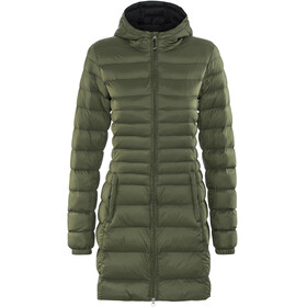 Meru Belleville Padded Coat Women Dark Oliv/Black